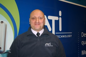 Ian Mewitt, ATi's Service & Project Manager