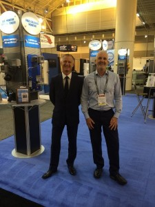 ATi's Garry Tabor and Mike Strahand at WEFTEC 2014