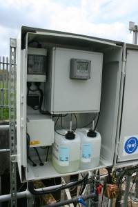Image 3 - Installed Q45N Final Effluent Ammonia monitor