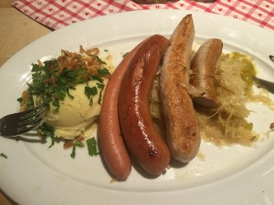 German sausages
